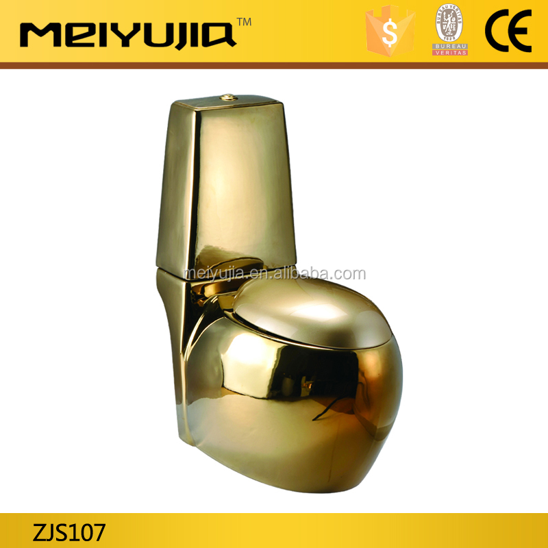 Meiyujia golden colored toilet dubai gold color toilet for hotel