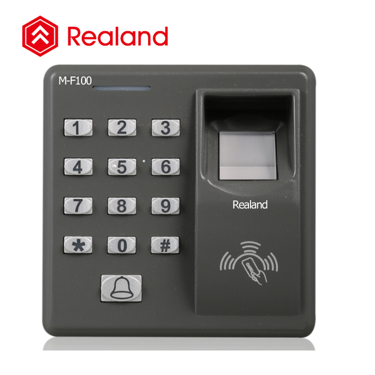 Realand M-F100 fingerprint door lock system biometric access control with biometric solutions