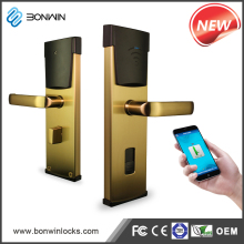 Rfid smart lock smart electronic door rfid key lock for hotel / office