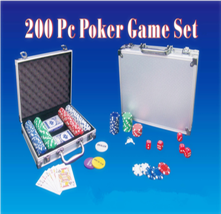 Manufacturer 100pcs cheapest Poker Chip Set