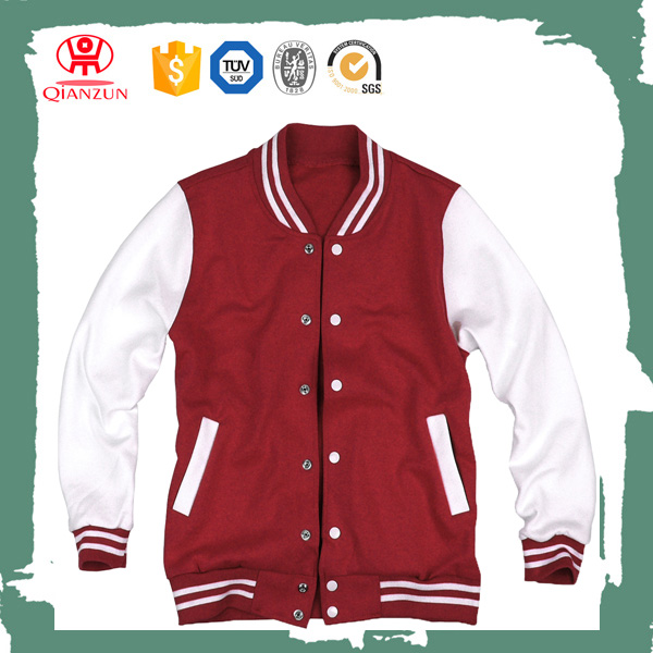 Custom baseball jacket hoodie baseball jacket