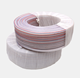 white soft flexible lpg gas hose reels high pressure spray fiber braided layers water pipes in rolls