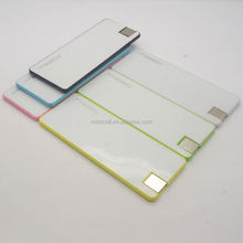 New Design Cute Slim Card 3000mAh Back Splint Power Bank