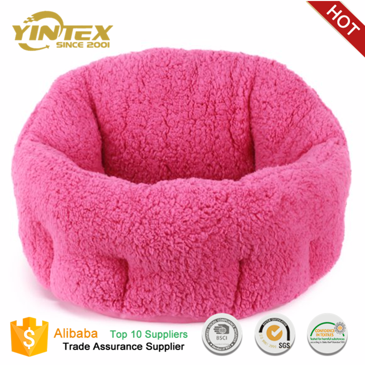 Classic Design Cute And Warm Insulated Luxury Dog Bed Pet