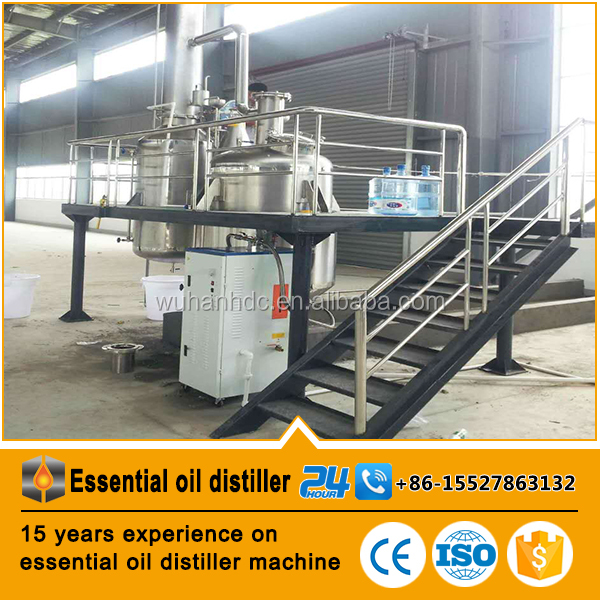 high efficient factory price Lavender/Honeysuckle/Violets/Lemongrass/Rosemary essential oil distillation equipment