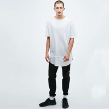 Top fashion mens oversize t shirt in white plain white t-shirts