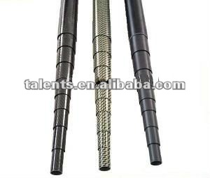 carbon fiber pole,telescopic supporting pole,telescopic mechanical mast