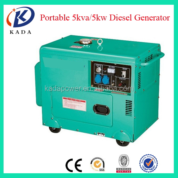 3 and 5kva air cooled portable dynamo power generator