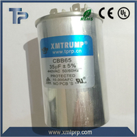 China refrigerator capacitor CBB65-1 metalized polypropylene AC motor starting capacitor