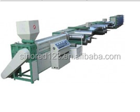 Digital controlled plastic round wire extruder/drawing machine