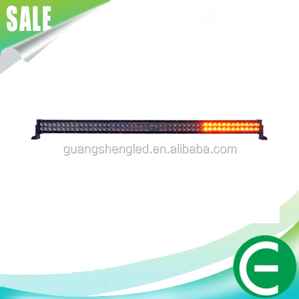 12V 24V 288W 50 inch high quality waterproof flashing strobe warning used police emergency bar Red/Bule light
