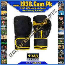 10oz Pro Fight Leather Boxing Gloves Gel Mold,Punch Bag