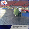 Construction roadways / hdpe temporary floor protection mat