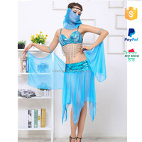 Paypal Accept Nude Sexy Arabic Dancing Costumes