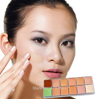 professional 12 color makeup palette face cream concealer