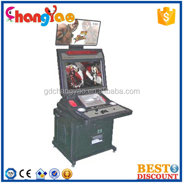 Single Player Cabinet Game Machine Arcade Electric Machine Games For Kids