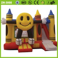 2014 New design pretty lovely used commercial cartoon inflatable combo