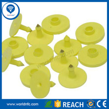 Direct factory outlet customized LF / UHF RFID animal ear tags for cow / pig / sheep / cattle