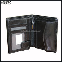 Classical design genuine leather wallet
