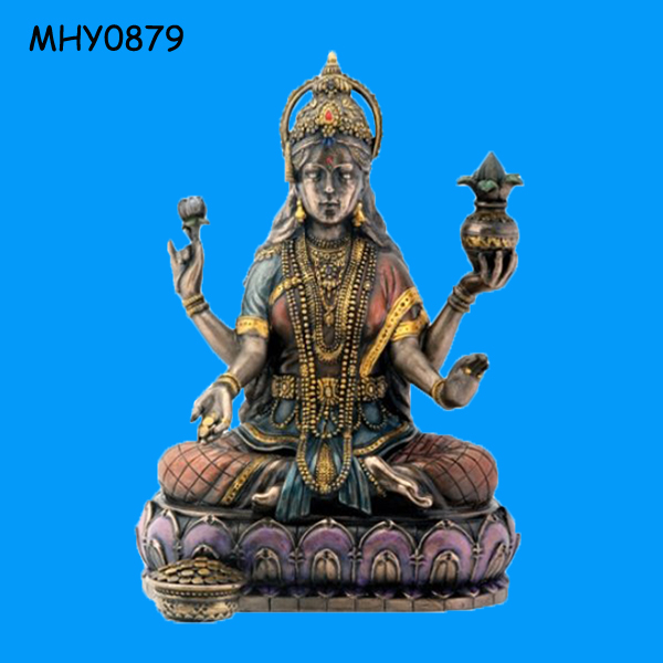 On lotus wholesale goddess and Hindu God Statue for Sale