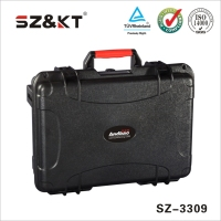 Waterproof shockproof plastic medical emergency equipment case