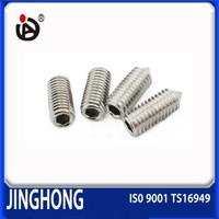 High Quality Stainless Steel Conical Headless DIN914 Set Screw