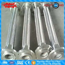2017New type flange stainless steel flexible hose