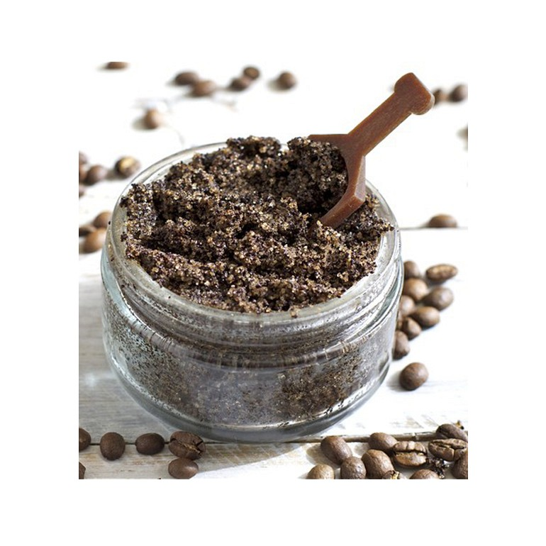 OEM Natural Coconut Milk Coffee Body Scrub with Anti-Aging Vitamin E. Exfoliate and Moisturize Dry Skin
