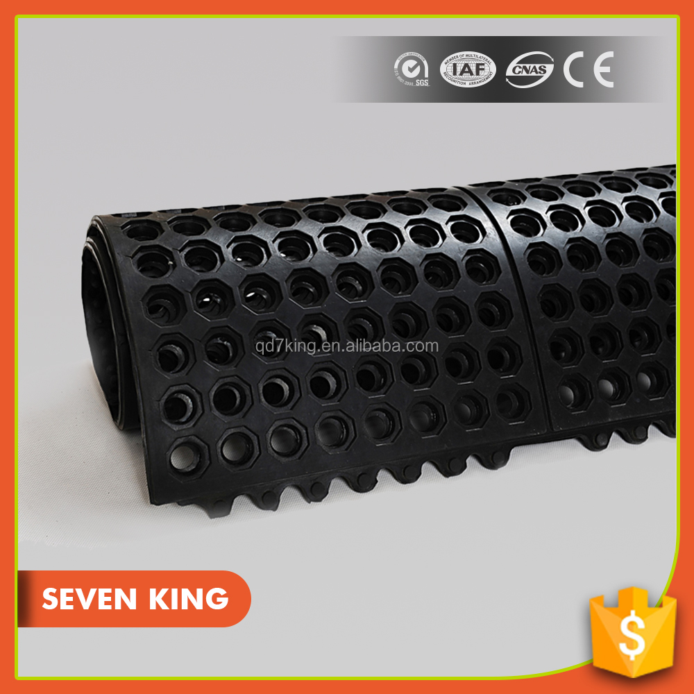 Qingdao 7 King anti slip safety electrical insulation mat