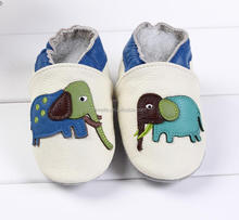 elephant sytles baby moccasins infant toddler shoes sandals 12-18M