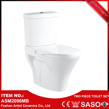 China Factory Types Of Arabic Two-Piece Wash Basin Water Closet
