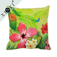 Top Quality Hot Pillow Cover Custom Printed Cushion Covers Beautiful Flower Pattern Latest Design Cushion Cover