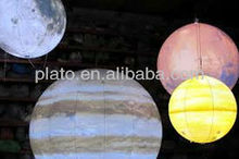 lighted Inflatable planet sphere, Inflatable lighted balloon