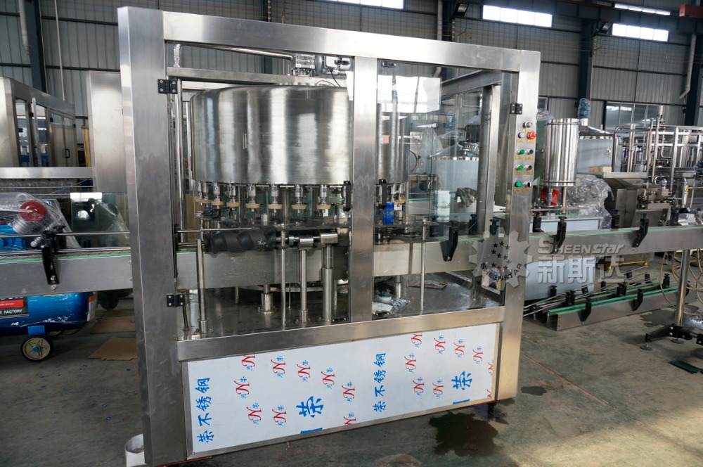 Can Filling Machine/soft drink canning line