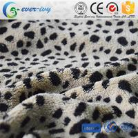 Professional 100% polyester fancy jacquard knitting fabric for blanket with low price ever-ivy