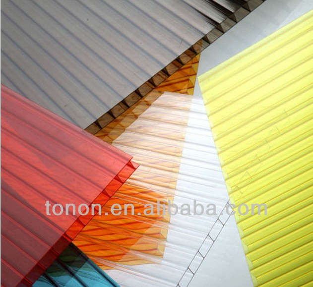 High quality ! building roof plastic sheet polycarbonate sheet PC11 4mm 6mm 8mm 10mm pc hollow sheet china manufacturers