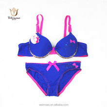 wholesale latest hot sexy bra and panty new design for ladies