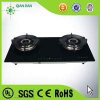 Patent indoor Touch Screen 2 burner Gas Stove brands