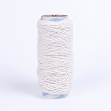 cotton polyester mixed recycled yarn for blanket