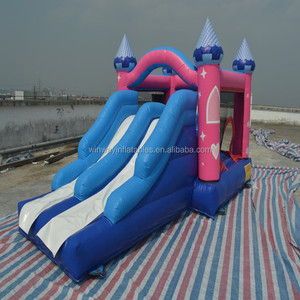 inflatable bouncer fun city,inflatable bouncer and slide combo W3196