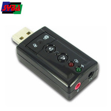 USB Stereo Audio Adapter optical output, PCM decode / encode 24-bit/96KHz sound card