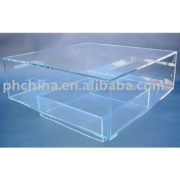 Clear Acrylic Coffee Table;Clear top grade Coffee Table;Clear Perspex Dining Table