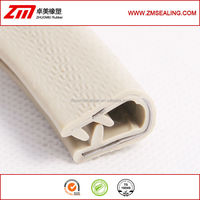 White Plastic Automotive Rubber Trim
