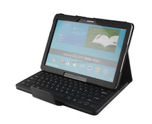 Litchi Pattern Bluetooth keyboard tablet cover & cases for tablet pc Samsung Note PRO 12.2inch P900-SA109