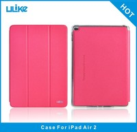 Factory product unbreakable tablet cover for ipad air 2 leather case