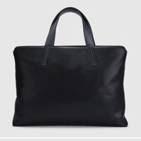 Fashion Leather Briefcase Man Work Tote