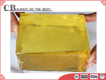 Wet tissue lid gluing hot melt pressure sensitive adhesive