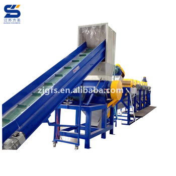 cost plastic recycling machine /recycling pp pe pet washing line