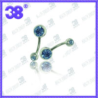 2013 fashion stainless steel hotselling playboy body piercing