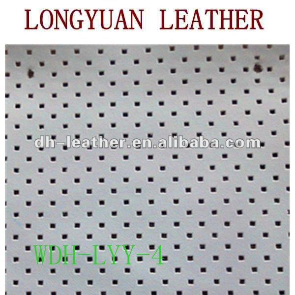 imitation leather with Square pattern for shoes,decorations